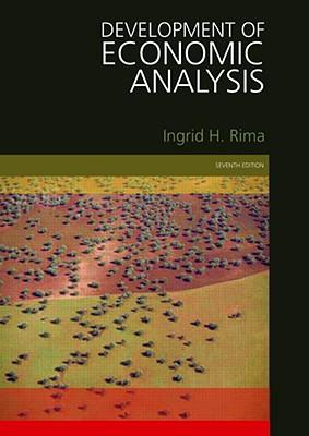 Development of Economic Analysis By Rima, Ingrid