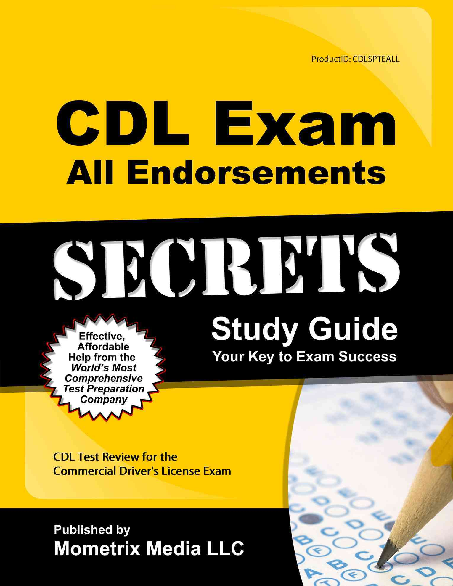 CDL Exam Secrets & CDL Practice Test & All Cdl Endorsements Study Guide By Cdl Exam Secrets (EDT)